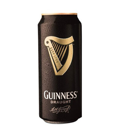 Бира кен GUINNESS DRAUGGHT 4.1% - 440ml