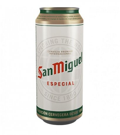 Бира кен SAN MIGUEL ESPECIAL - 500мл